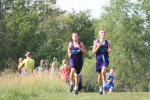 NCMS Cross Country Team Opens the Season at Jackson Heights