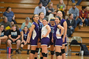 NCMS Volleyball Girls Compete at Sabetha