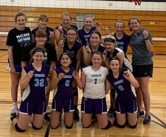 NCMS 8th Grade Volleyball Team Finishes as Runner-Up