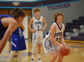 NCMS Boys Basketball Plays Home Opener