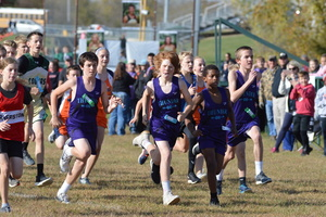 The NCMS Cross Country Team Finishes the Season Strong