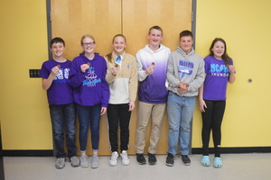 NCMS Competes at Big 7 Scholars' Bowl Meet