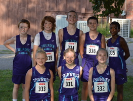 The NCMS Cross Country Team Started off the Season in Marysville