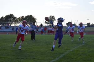 NCMS Football Thriller Comes Down to the Last Minute Against Hiawatha