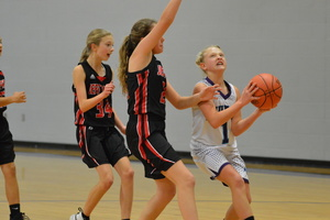 NCMS Thunder Girls Get Clean Sweep