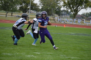 NCMS Football Team Rolls Over Riverside