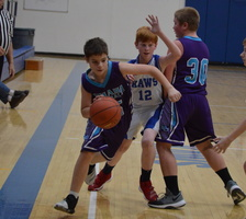 NCMS Boys Basketball Meets Perry Again