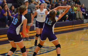 NCMS Volleyball Finishes Regular Season with Riverside