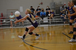 NCMS Volleyball Picks up Wins Against Royal Valley