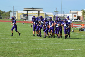 NCMS Football Team Defeats Perry-Lecompton