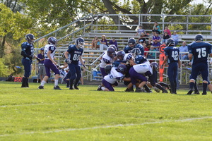 NCMS Football Team Suffers a Loss to Sabetha