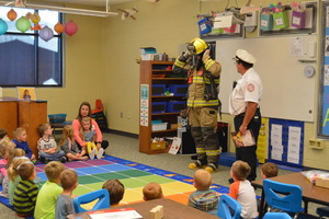 The Seneca Fire Department Visits NCES