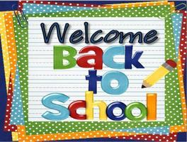 Welcome Back to School 2020-2021