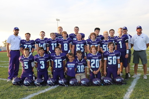 NCMS Football Ends the Season on a Win