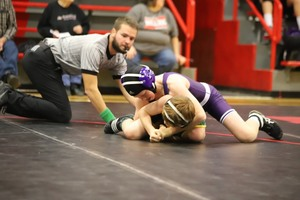 NCMS Wrestlers Attend Meet at Concordia