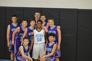 NCMS Boys Basketball Sweeps Riverside