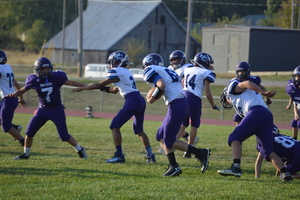 NCMS Football Pounces On the Panthers