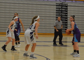 NCMS Girls Basketball Goes Up Against Royal Valley