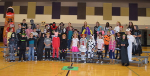 A Spooktacular Evening for Lyrics and Literacy Night