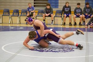 NCMS Wrestles at Holton