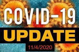Daily Update on COVID-19 for 11/4/2020