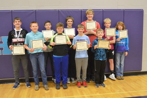 NCEMS Students Participate in Geography Bee
