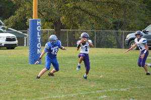 NCMS Thunder Football Hops Over Holton