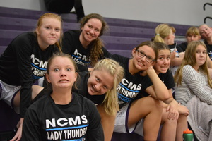 NCMS Girls Basketball Get Wins Over Hiawatha