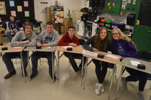 NCMS Scholars' Bowl Team Attends Royal Valley Meet