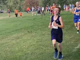NCMS Cross Country Team Runs at Hiawatha