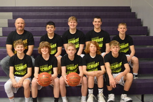 NCMS Boys Thunder Challenge the Hiawatha Red Hawks