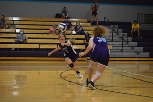 NCMS Volleyball Challenged by SPPS