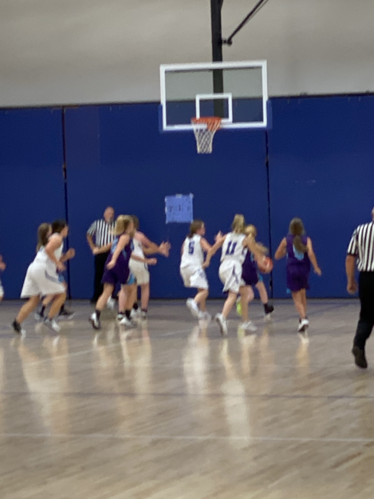 NCMS 6th grade girls basketball