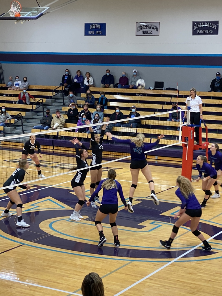 NCHS volleyball vs Holton