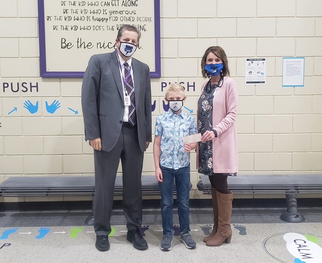 Abbott S. donates funds raised by selling face masks to NCEMS