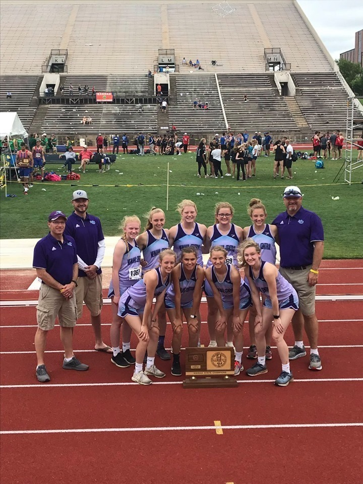 NCHS 2019 3A Girls State Champs Track