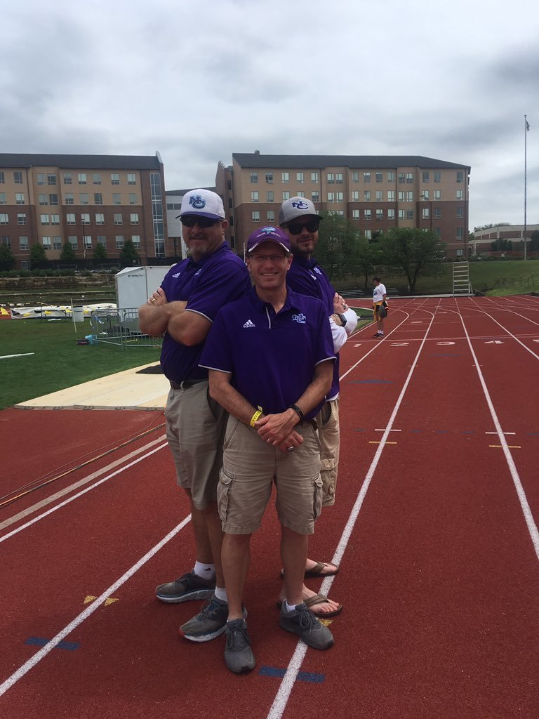 2019 NCHS Track Coaches Bass, Thomas, Krause