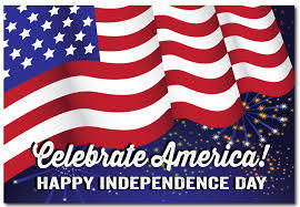 Celebrate America! Happy Independence Day