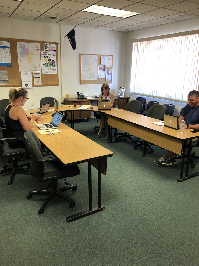 Admin team hard at work.