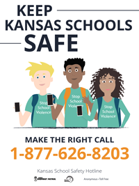 KS Safe School Hotline 877-626-8203
