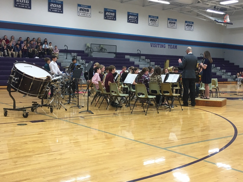 6th and 8th grade band