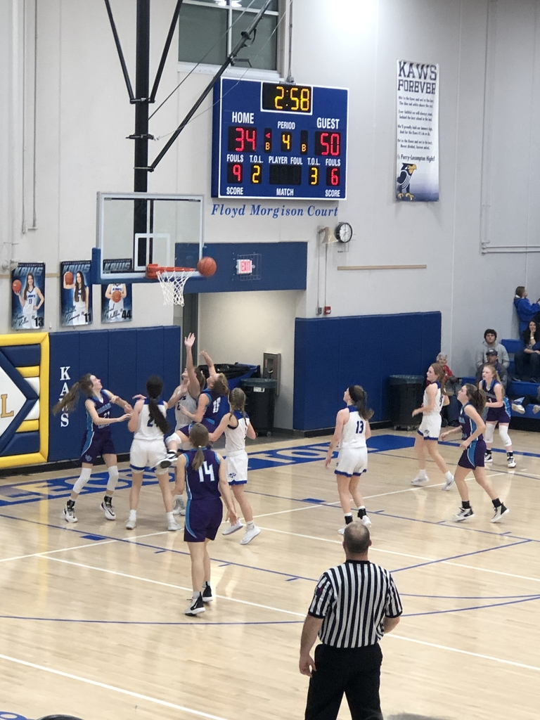 NCHS vs Perry Lecompton girls basketball
