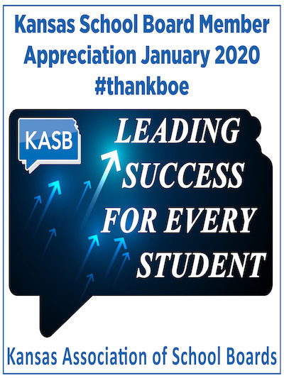Kansas School Board Member Appreciation January 2020