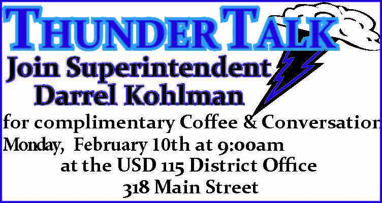 Thunder Talk Feb. 10th 9 am
