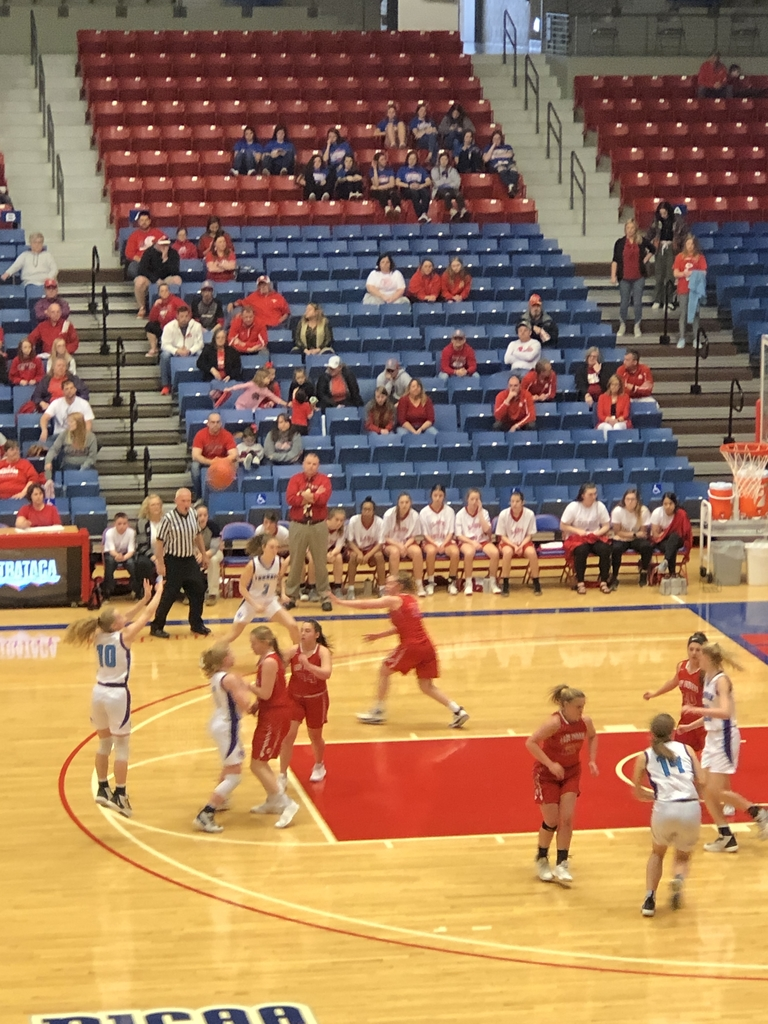NCHS girls vs Osage City 1st round State BB