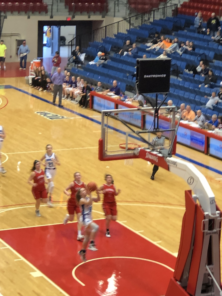 NCHS girls vs Osage City 1st round State BB.