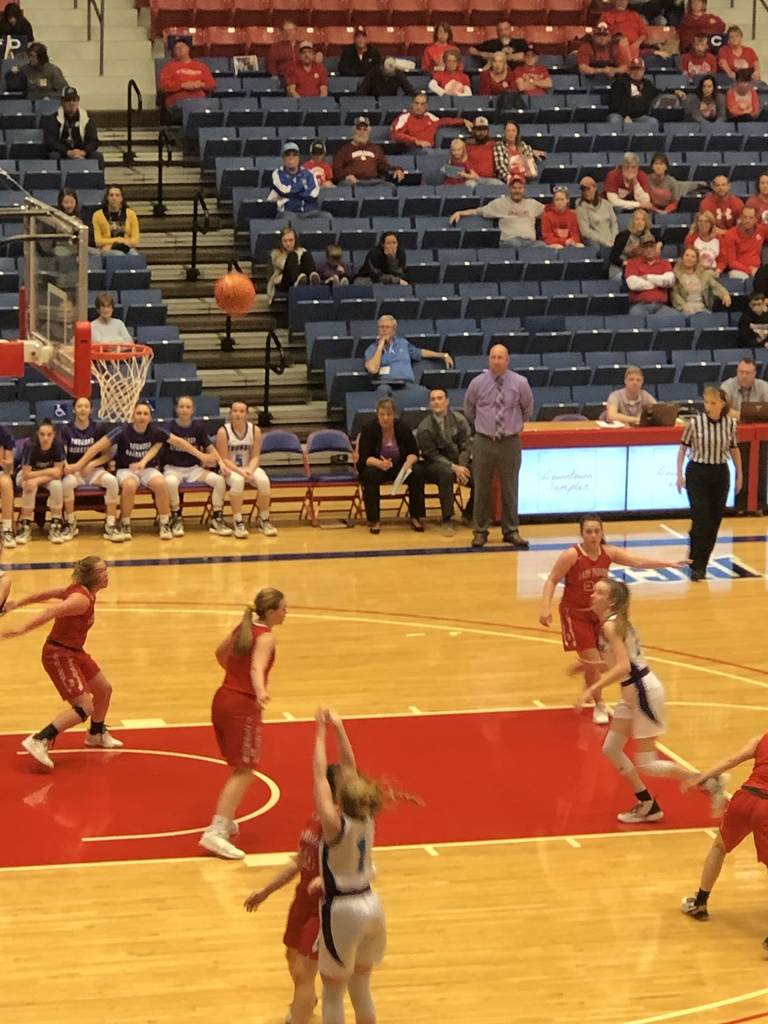 NCHS girls vs Osage City 1sr round State BB