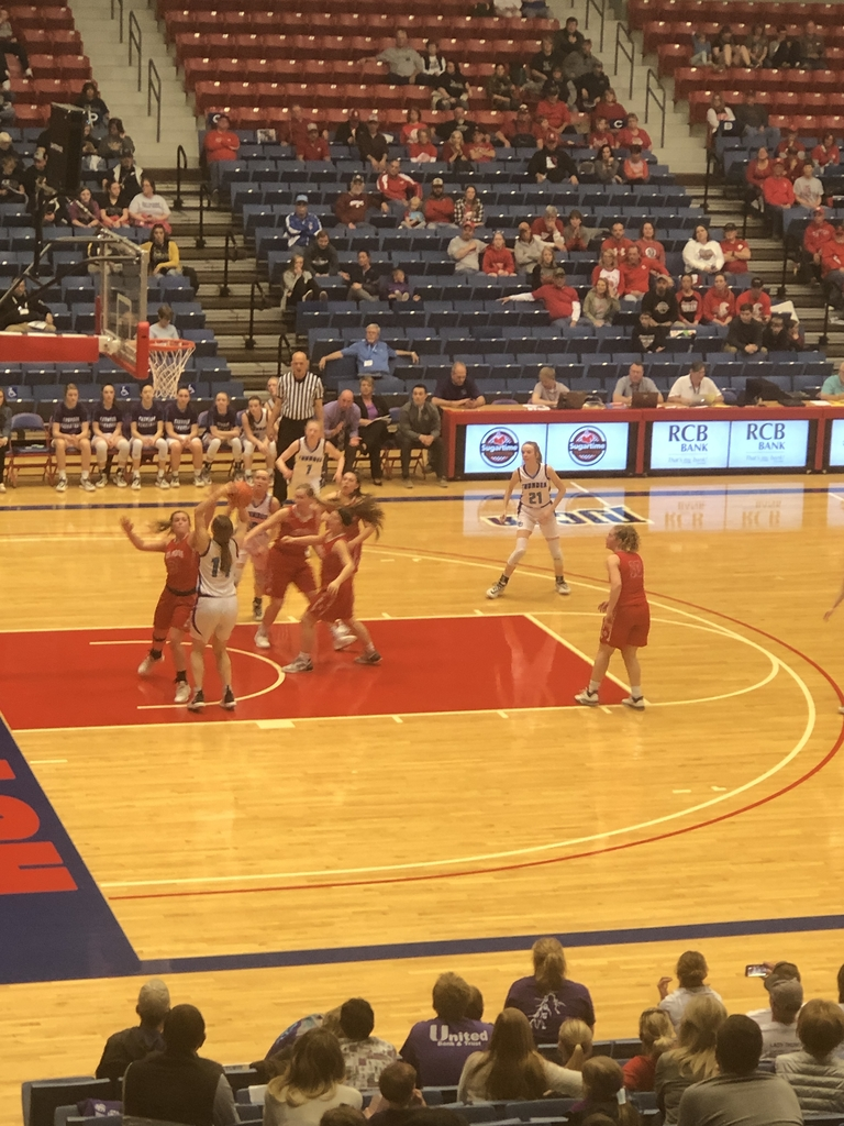 NCHS girls vs Osage City State BB.