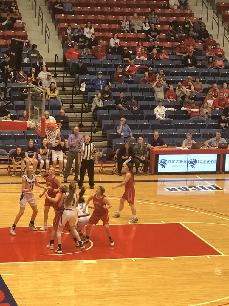NCHS girls vs Osage City 1st round of State BB