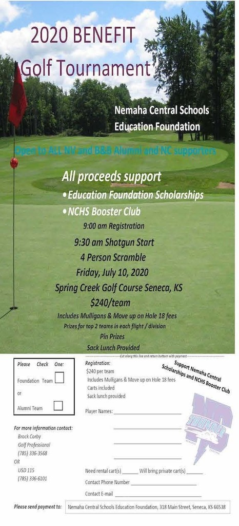 NC Ed Foundation Golf Tournament